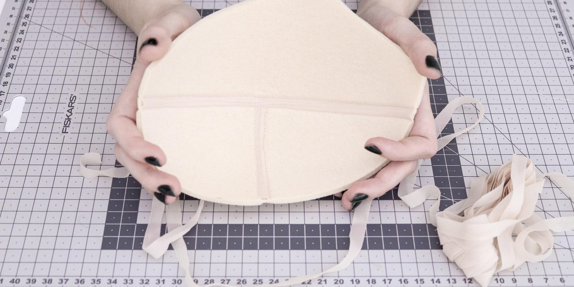 Jak zakryć szwy w miseczce biustonosza